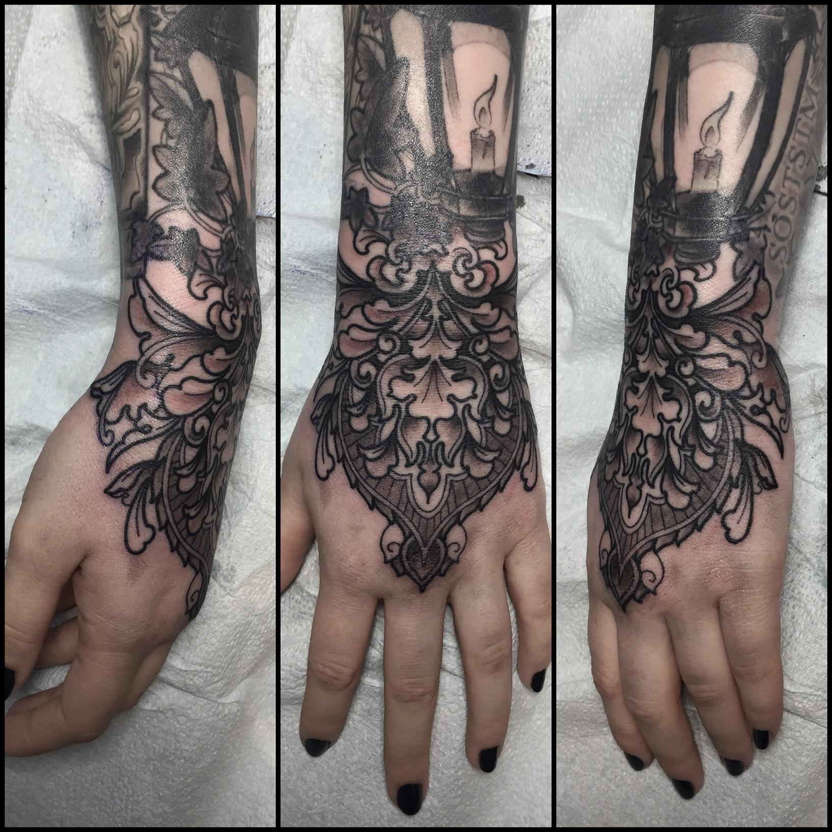 Ornate Hand