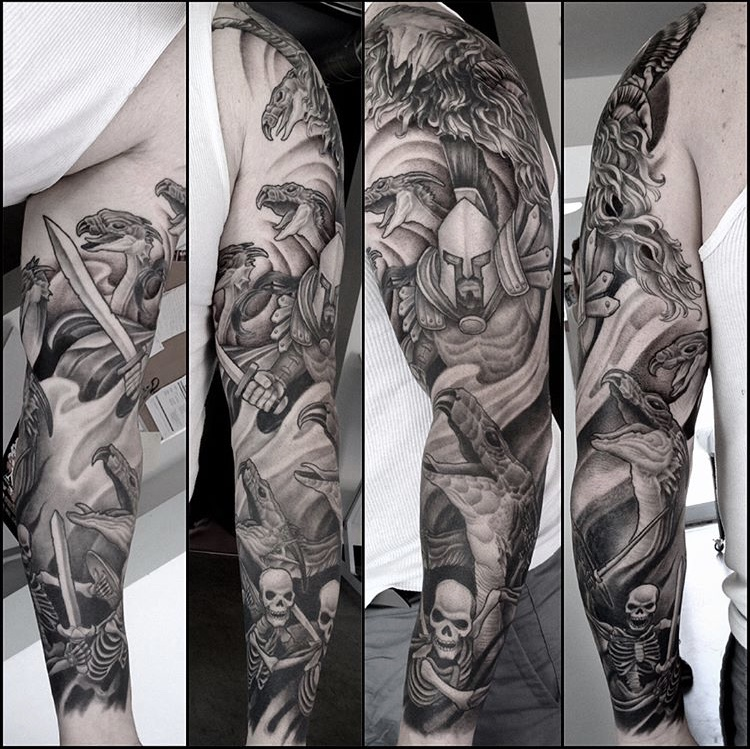 Jason and the Argonauts sleeve cover-up